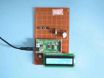基于STM32单片机的多功能电子秒表计时器系统设计-万用板-电路图+程序+论文97