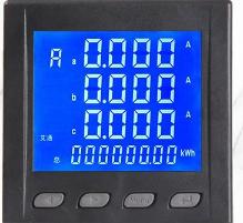 基于STC15+ATT7022开发的电力检测三相电流电压表电路设计(含原理图+PCB+源代码)
