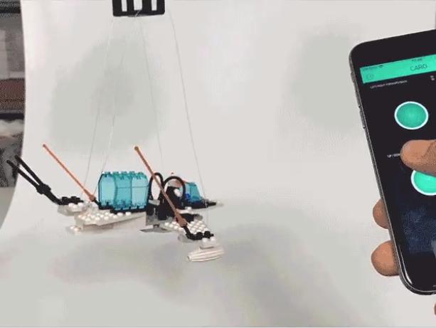 ?#32479;?#26412;易构建的电缆机器人CaRo