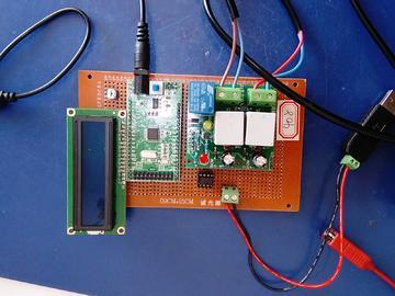 基于STM32单片机的抄表系统设计-交流-LCD1602-MAX485-(电路图+程序源码)