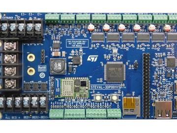 基于ST EVAL-3DP001V1 3D打印机控制板方案