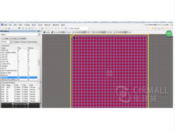 imx6q核心板 cortex-A9四核开发板Altium AD09  AD17 硬件元器件 原理图库 PCB封装库 Altium集成库