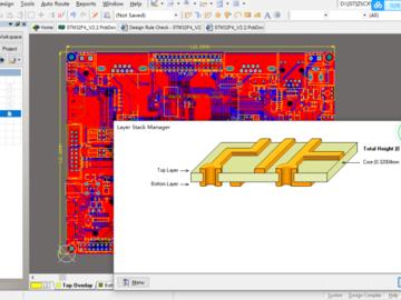 STM32F407开发板AD设计硬件原理图+PCB图+3D封装库+BOM文件