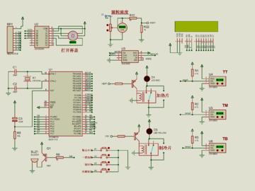 基于单片机的温控水杯的设计(仿真+源码+原理图+设计流程+硬件清单+视频讲解)