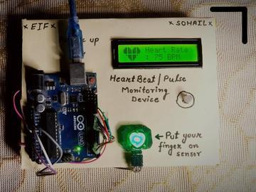 基于Arduino的心跳监测器