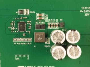基于LTC3350的大电流超级电容器后备控制器和系统监视器电源电路设计