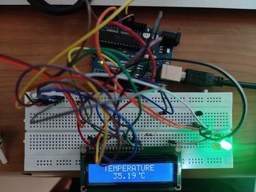 基于LM35和arduino的数字温度计