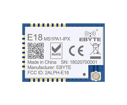 遠距離無線通信模塊E18-MS1PA1-IPX,適用于ZigBee設計