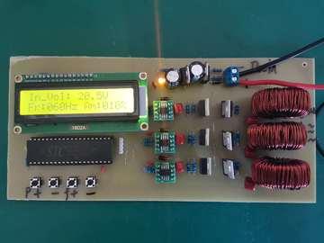 基于STC15F单片机三相逆变电源板资料(原理图+源码+参考文档)