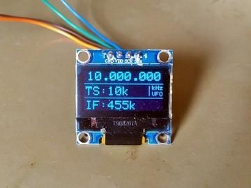 具有Si5351和Arduino的10kHz至120MHz VFO / RF发生器
