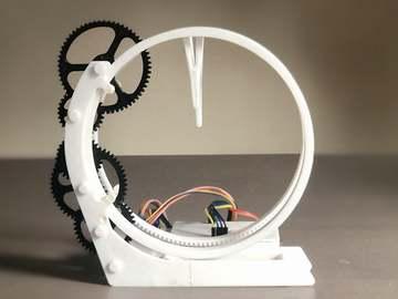 基于Arduino 的 3D 打印全息时钟