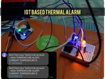 基于LOT的热报警系统
