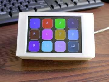 基于树莓派的矩阵触摸屏键盘