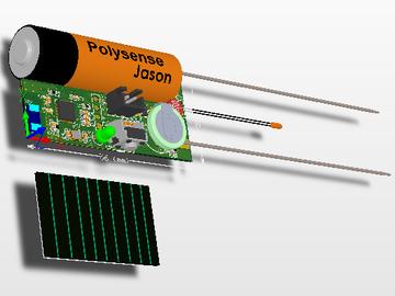 土壤温湿度光照检测无线节点的电路方案设计(原理图+pcb+说明文档+中文资料)