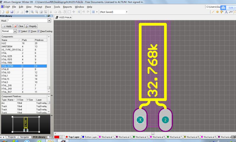 Altium Designer AD09 AD10 自建库元件库PCB封装库-900多个PCB