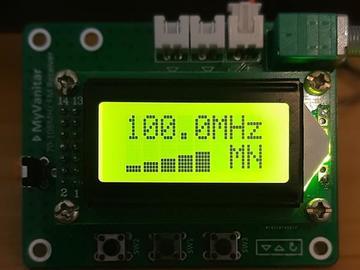 带有Arduino的数字FM接收器