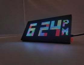 基于Arduino的WiFi俄罗斯方块时钟