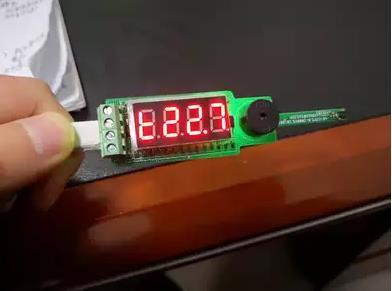 氣源溫濕度檢測報警模塊