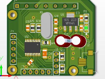 STM32F030F4P6接蓝牙、传感器
