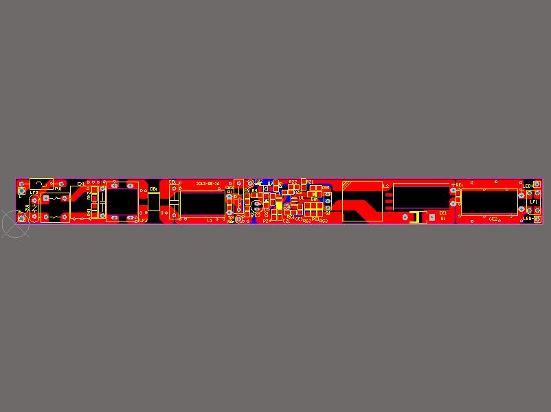 GS8052 带PFC高精度非隔离LED驱动器典型应用