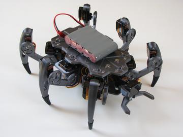 基于树莓派的六足机器人设计