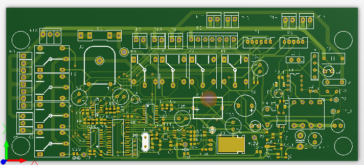 空氣消毒機主板設計方案