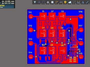 BUCK同步整流电路方案(原理图+PCB)