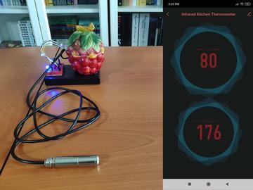 基于 Arduino Nano R3 的物联网无限红外温度计