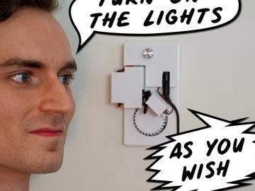 家庭自动化机器人之电灯开关