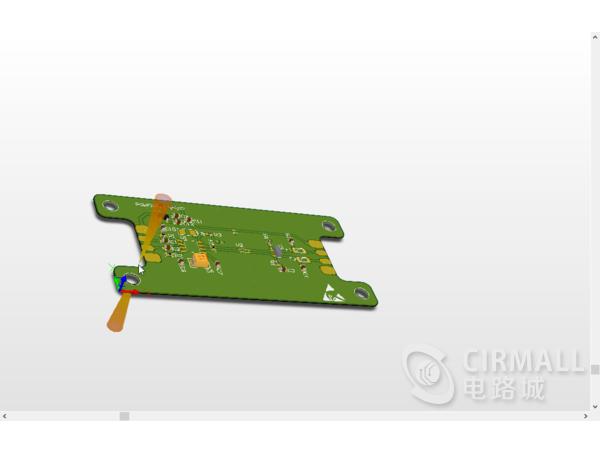 CAN总线收发电路原理图和PCB文件