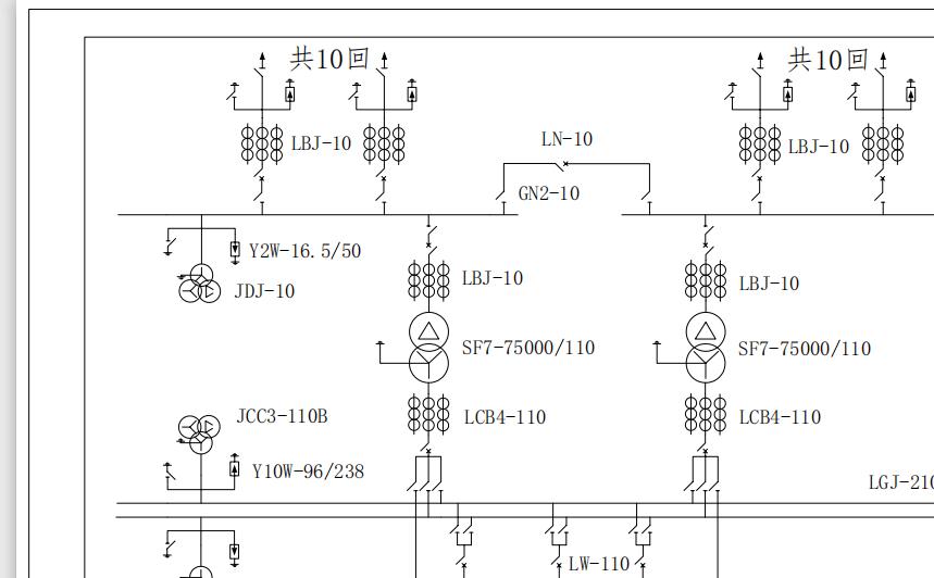 電路方案設計之110kV/10kV變電站的設計之路(pcb+方案)