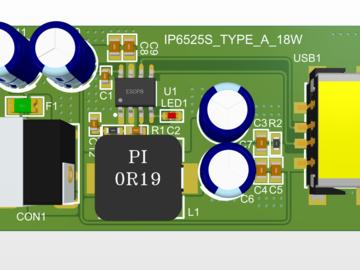 英集芯IP6525S_PD18W车载充电支持VOOC
