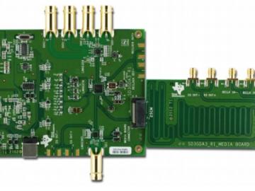 用于串行数字接口的低功耗1:4分配放大器电路设计