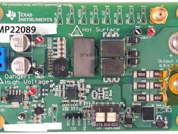 基于LMG5200 GaN器件的半桥负载点转换器电路设计