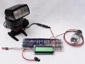 频闪仪设计,测量电动机的转速或分析周期性运动