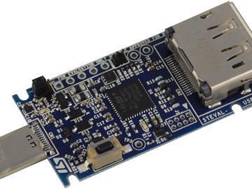 基于ST STM32F072C8U6的Type-C转接Display port影像转换器方案