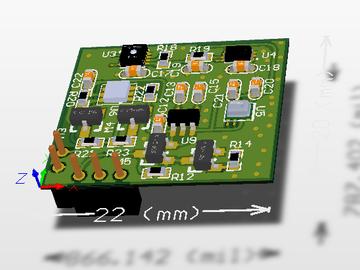ENS环境传感器模组电路方案设计(pcb+原理图)