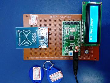 基于STM32单片机的产品出库入库射频刷卡门禁系统设计-LCD1602-RFID(电路图+程序源码)