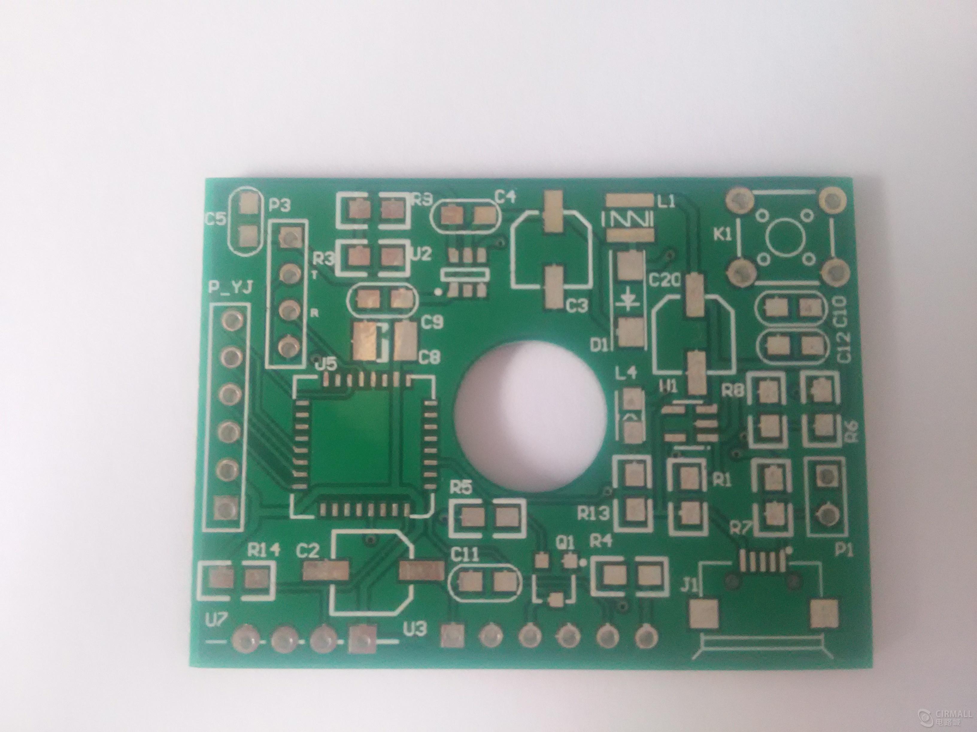 桔城qq提取器源代码_PM2.5温湿度检测仪原理图+PCB+源程序 OLED显示屏 - 空气质量和气体 ...