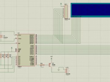 数字电压表电路方案(仿真图+程序源码)