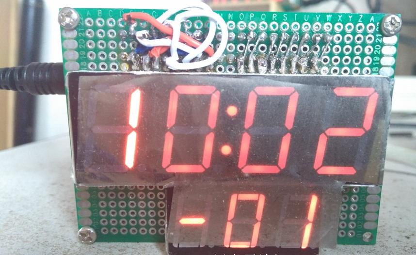 数码管电子时钟设计,仿真源码,统统开源