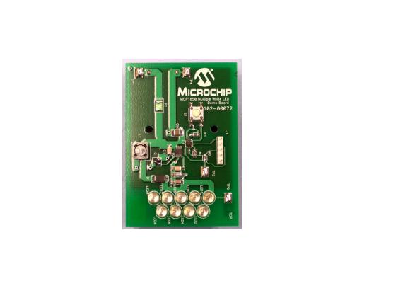 MCP1650 白光LED亮度调节控制板设计
