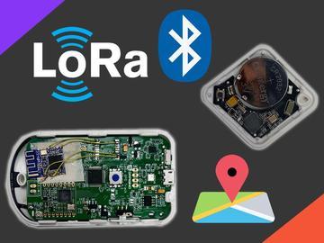 基于BLE和LoRa的不带GPS的室内位置跟踪器