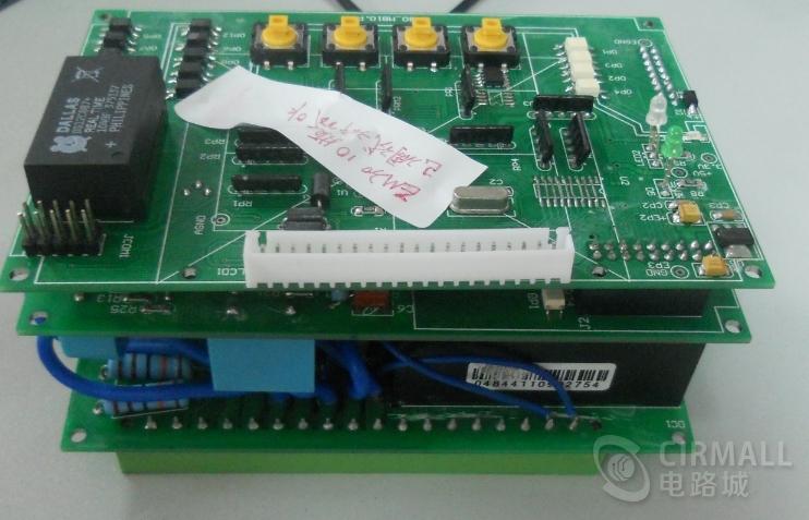 一款应用ATT7022电能芯片设计的电力仪表原理图PCB源码