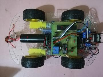 电磁干扰小车设计方案