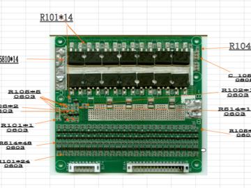 磷酸铁锂锂电池保护板电路方案(4-24串,PCB文件直接打样生产)