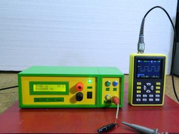 DIY简单方波发生器,高达1MHz