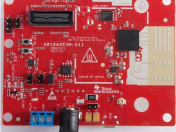 基于IWR1642毫米波雷达传感器的交通监控物体检测与跟踪电路设计
