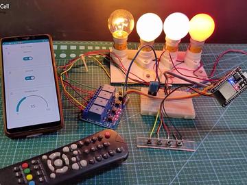 基于Arduino IoT Cloud ESP32 Alexa的语音控制智能家居