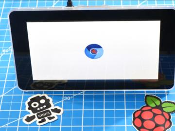 7英寸触摸屏和Raspberry Pi 4构建数据可视化GUI